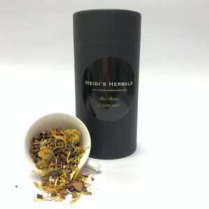 A cylinder of herbal tea - Morning Glory