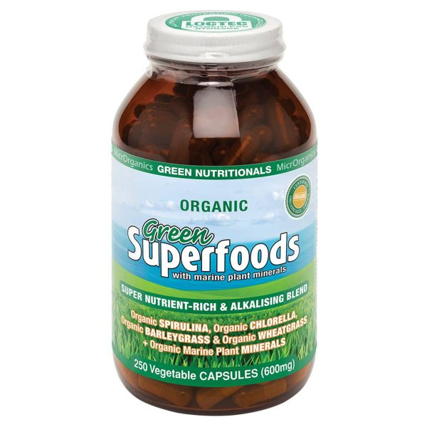 Superfoods 600mg 250vc
