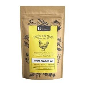 Nutra Organic bone broth chicken turmeric