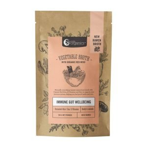 Nutra organic vegetable broth with organic red miso