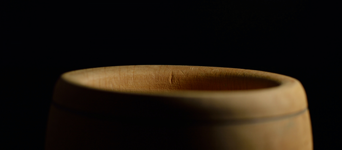 wooden cup for kava